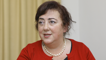 Shahrbanou Tadjbakhsh, photo: provided by www.mezon.uz