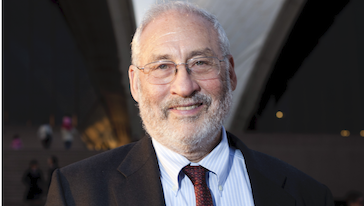 Joseph Stiglitz, photo: Daniel Baud and the Sydney Opera House